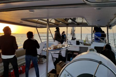 Sunset Cruise with food and wine