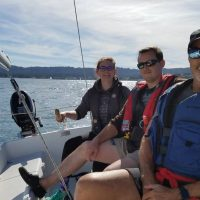 sailing the capri
