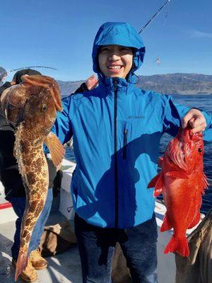 fishing ling cod jandM