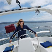 take the helm sailing
