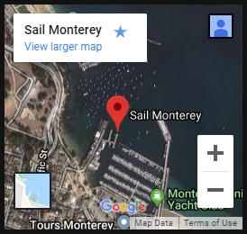 sail monterey map